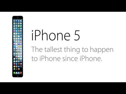 The iPhone 5 Ad (Parody)  - this cracked me up!
