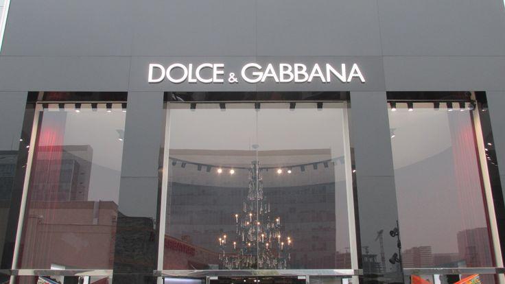 Dolce&Gabanna (Distrito de Lujo / Parque Arauco).