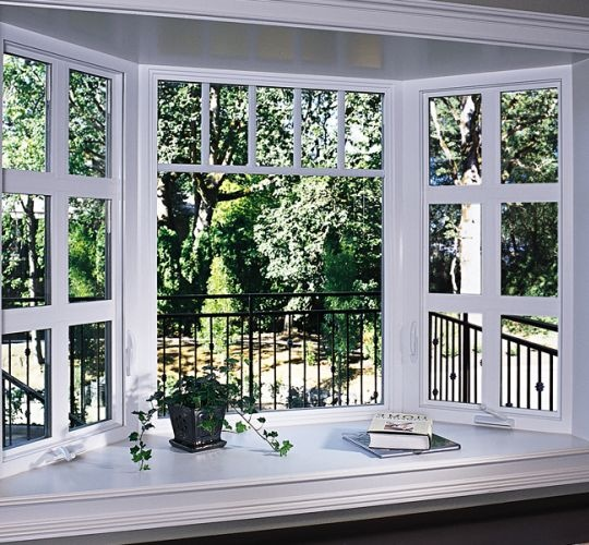 Inside View Of Milgard Tuscany Bay Windows Window
