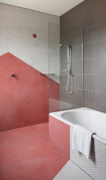 Gym shower room