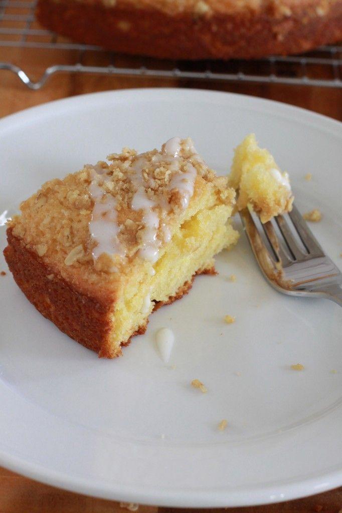 Yogurt Streusel Coffee Cake (Espresso and Cream) | Coffee Cake, Yogurt ...