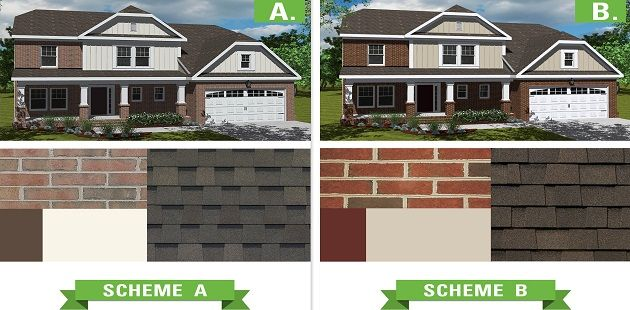 Exterior Paint Colors and Brick