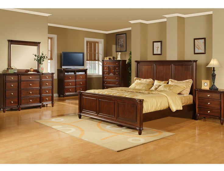 Stylish and classic, the Hamilton bedroom set adds elegance to any room  while providing many - 90 Best Master Suites & Bedrooms Images On Pinterest