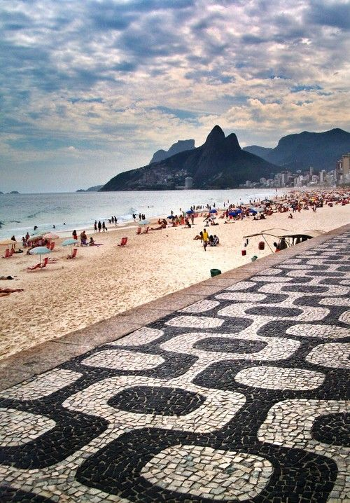 Ipanema Beach, Rio de Janeiro, Brazil. By Eric Van Nynatten