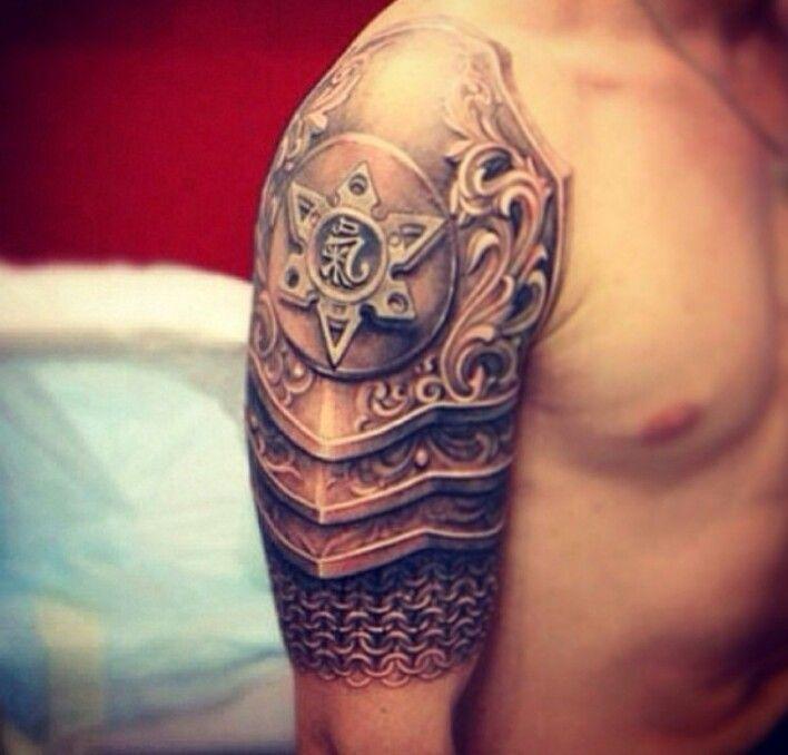 Татуировки на плечо мужские каталог