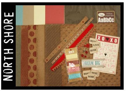 """Feb 2012 WeScrap kit  """"North Shore"""""""