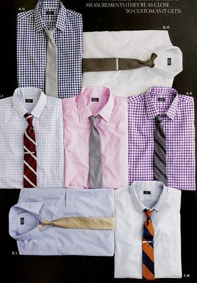 awesome shirts and ties (great combos too)