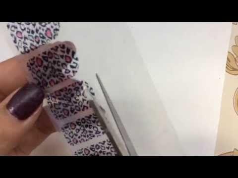 Stickers para uñas caseros//DIY - YouTube