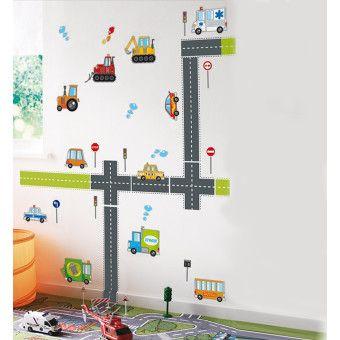 Dekorjinal  Duvar Sticker Arabalar - 2 - KST79