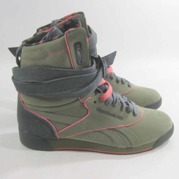 Alicia Keys x Reebok high top sneakers Stylish shoes for a stylish girl. Reebok Shoes Athletic Shoes