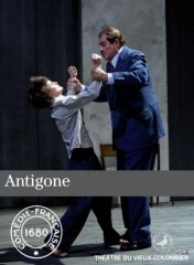 Fantastique Antigone d'Anouilh au Vieux Colombier (mise en scène  Marc Paquien)    http://www.mesillusionscomiques.com/archive/2012/09/18/antigone-anouilh-paquien-vieux-colombier.html