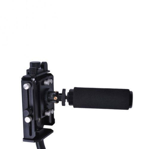 Sevenoak SK-W01 Steady Flycam Cam Camera DSLR Nano Stablizer for DSLR Camrecorder Canon Nikon Sony Black. Quick Balancing. Easy To Assemble. Aluminum construction with black powder coating. Allows high and low angle shooting, high precision bearings and low friction joints. Height adjustment improves weight ratio and reduces the need for base weights.