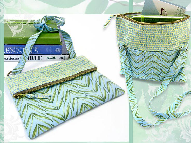 Fold-Over Zipper Top Purse   Sew4Home
