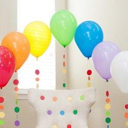 Surprise Anywhere Rainbow Balloon Tassel Tutorial