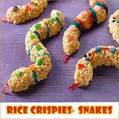 Rice Krispies Snake