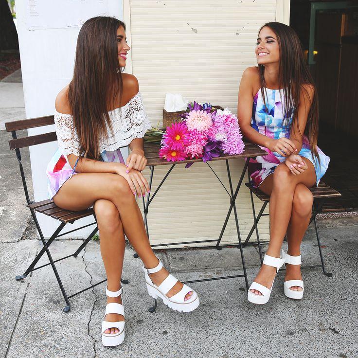 Summer babes! Elisha + Renee Herbert for Peppermayo.com