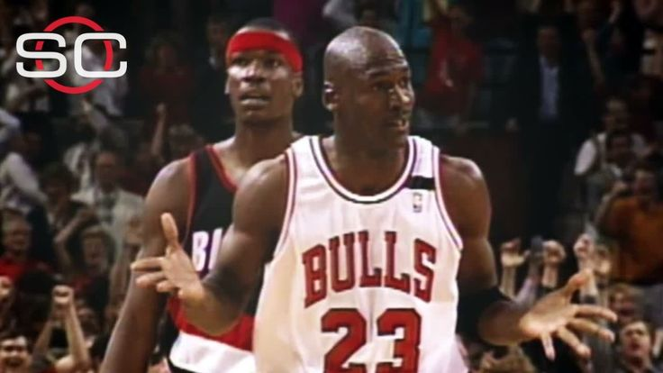On June 3, 1992, Michael Jordan reacted to a big 3-pointer against the Trail Blazers with a shrug. That now-iconic moment has spawned countless imitators over the years.
