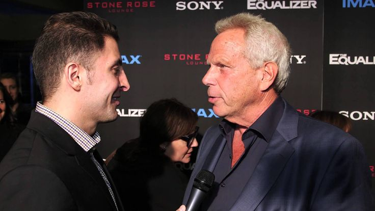 """Steve Tisch talks with Arthur Kade about working with Denzel Washington and Antoine Fuqua on """"The Equalizer"""", which he produced."""
