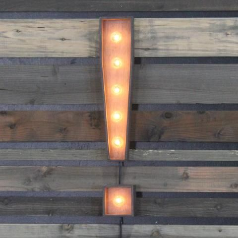 """Edison Marquee Symbol - """"Exclamation Point"""""""