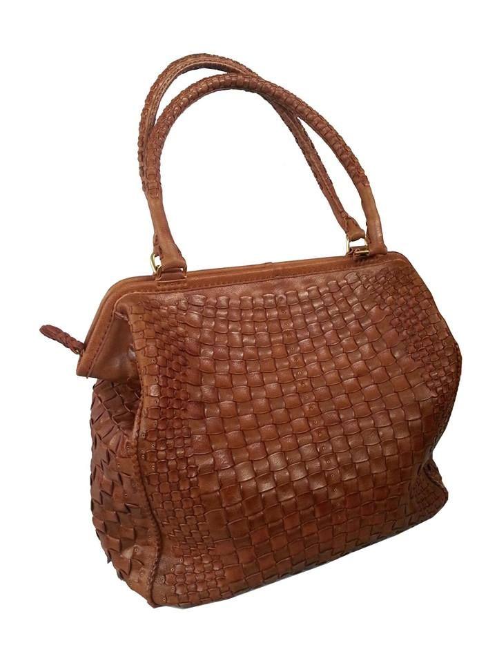 Gön Deri 20087 ALLIGATOR  Leather Handmade Bag