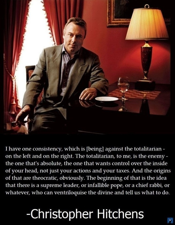 Christopher Hitchens. This world is really awesome. The woman who make our chocolate think you're awesome, too. Please consider ordering some Peruvian Chocolate today! Fast shipping! http://www.amazon.com/gp/product/B00725K254