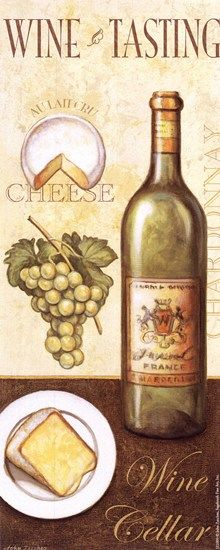 Wine Tasting II by John Zaccheo art print