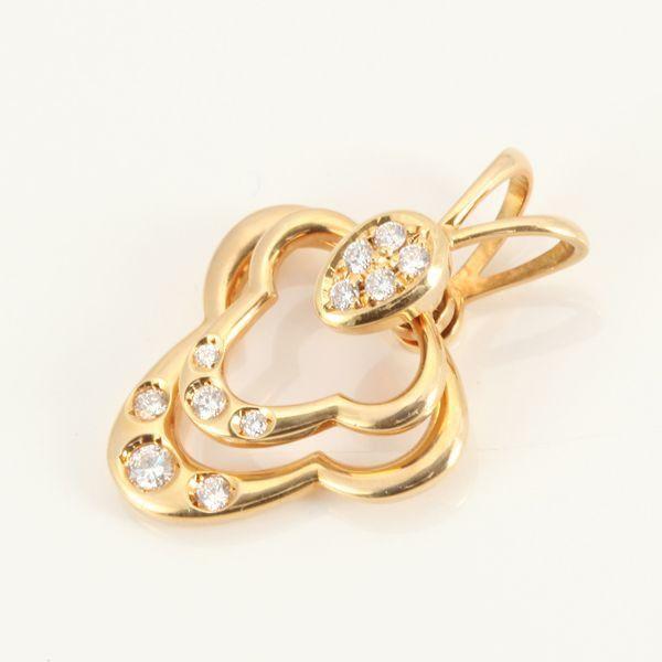【中古】K18 ダイヤモンド トップ/新品同様・極美品・美品の中古ブランド時計を格安で提供いたします。