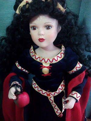 porcelain doll, lalkizporcelanyy.blogspot.com, miniatures, dollhouse