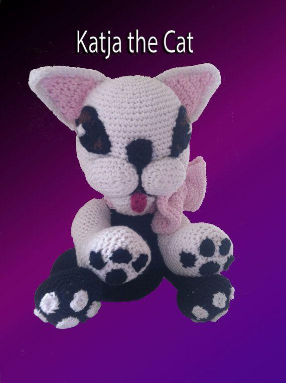 cat crochet pattern amigurumi cat amigurumi kitten by Zoffidesign