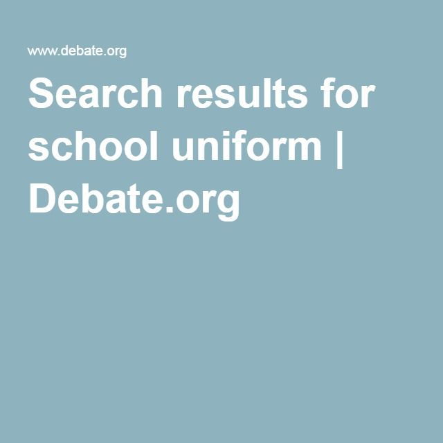 school uniforms debate essay ideas