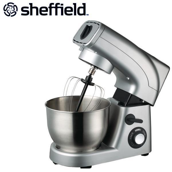Sheffield Mixer 1200W - Silver - Kitchen - Cooking