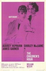 la calumnia. 1961 Duración 107 min. Director William Wyler Guión  Lillian Hellman  Música Alex North Fotografía Franz Planer  Reparto Audrey Hepburn, Shirley MacLaine, James Garner, Miriam Hopkins, Fay Bainter, Karen Balkin, Veronica Cartwright, Mimi Gibson, Debbie Moldow, Diane Mountford, William Mims, Sally Brophy
