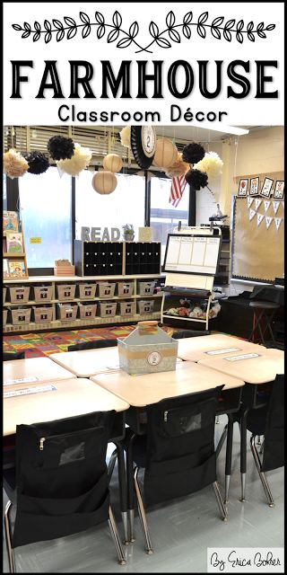 Farmhouse Style Classroom Decor | Erica's Ed-V…