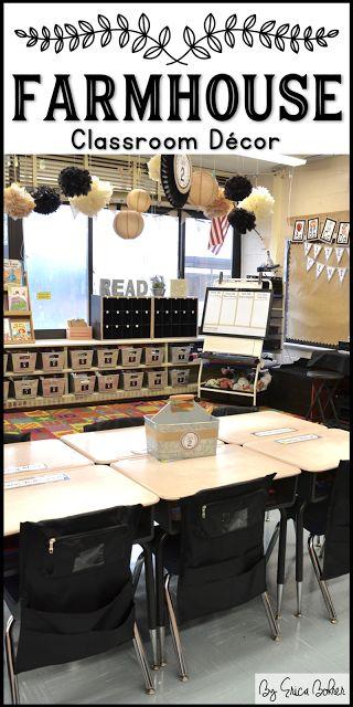 Farmhouse Style Classroom Decor   Erica's Ed-Ventures
