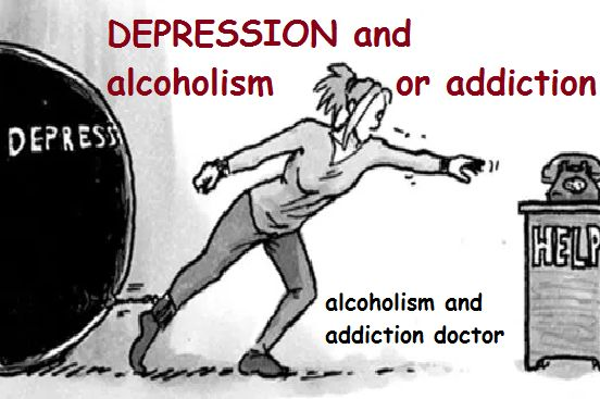 Depression and addiction to alcohol or drugs go hand-in-hand. They have similar genetics and causes. And one often causes the other. How do we tell them apart? How do we know which came first and caused the other? And how do we end the suffering? covered: comorbidity, substance use, mental health, alcoholism, recovery, psychology, treatment