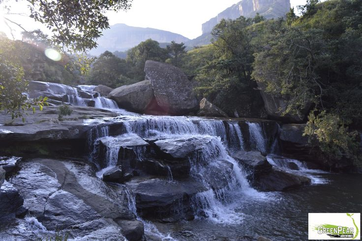 Cascades waterfall in the Royal Natal National Park. South Africa