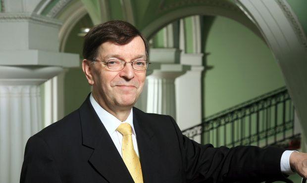 Il deputato finlandese ed ex ministro degli esteri, Paavo Vayrynen