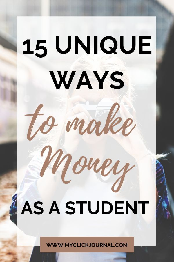 Pin On College Students Make Money