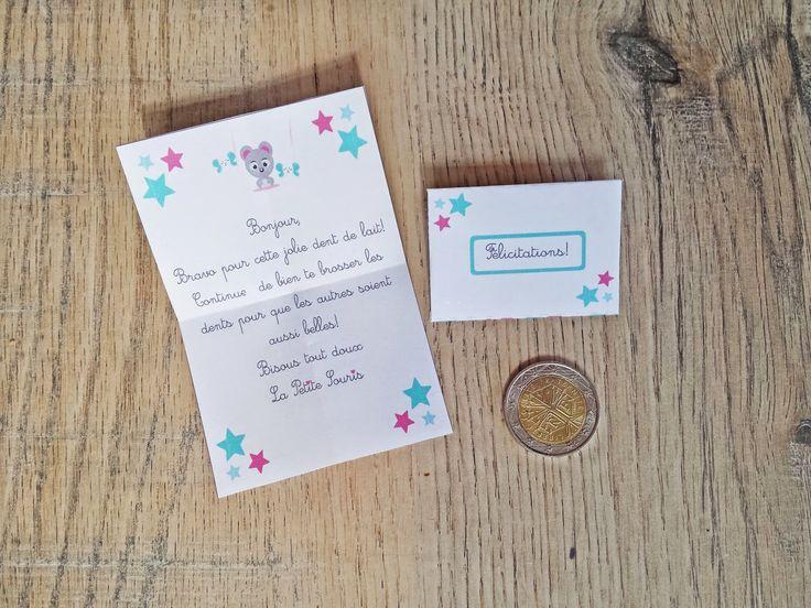 Trucs de Maëliane, le blog.: La lettre de la petite souris ( Printable inside )...
