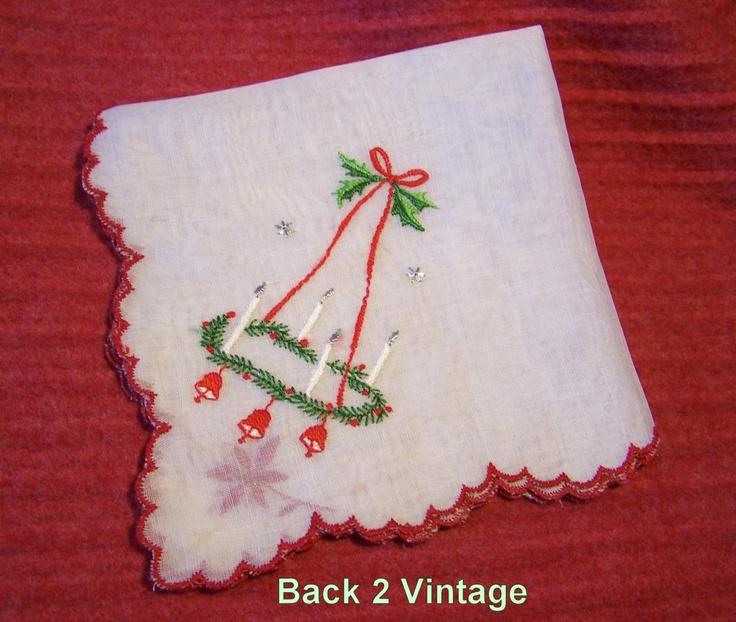 Best Christmas Danties: 37 Best Vintage Christmas Textiles Images On Pinterest