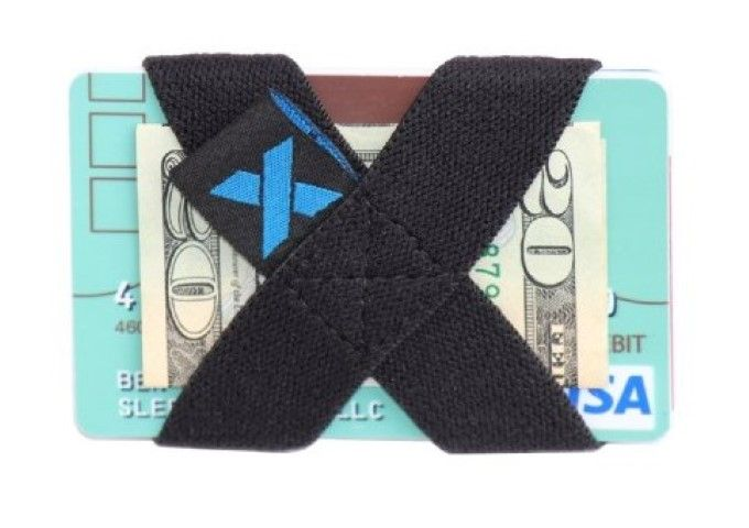 X-band wallet and money band.Works as a wallet or just to hold your excess cards. #Wallet #Money Clips