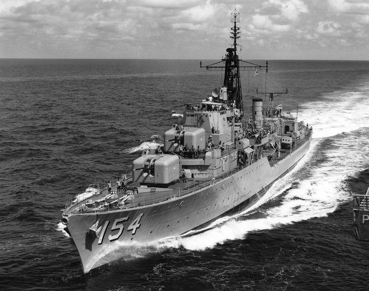 HMAS Duchess (D154) Daring class destroyer of the Royal Australian Navy (RAN). #3A