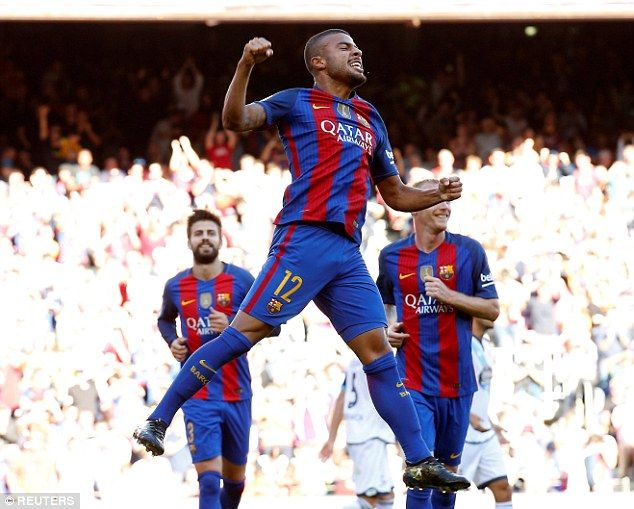 Barcelona 4-0 Deportivo: Rafinha, Suarez and Messi among the goals
