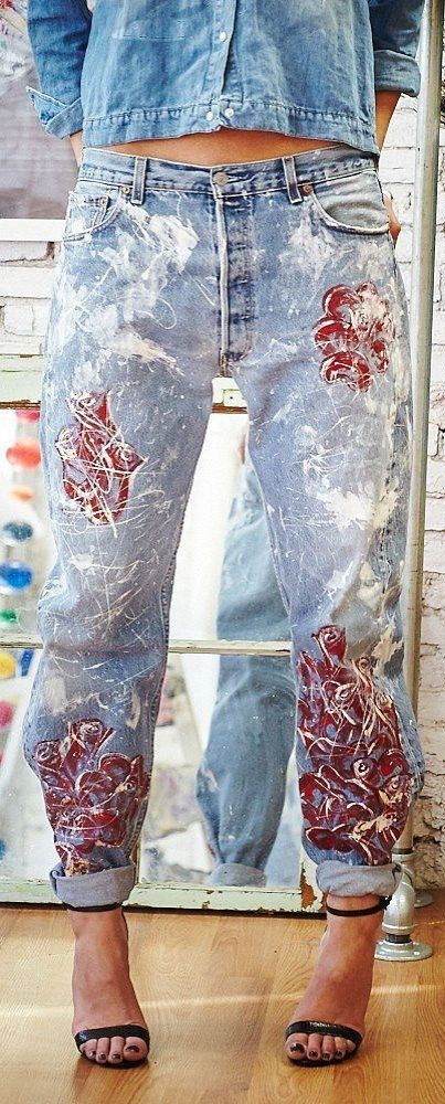 Blake Lively's Rialto Roses Boyfriend Jeans ($495), perfect for postbaby style and beyond!
