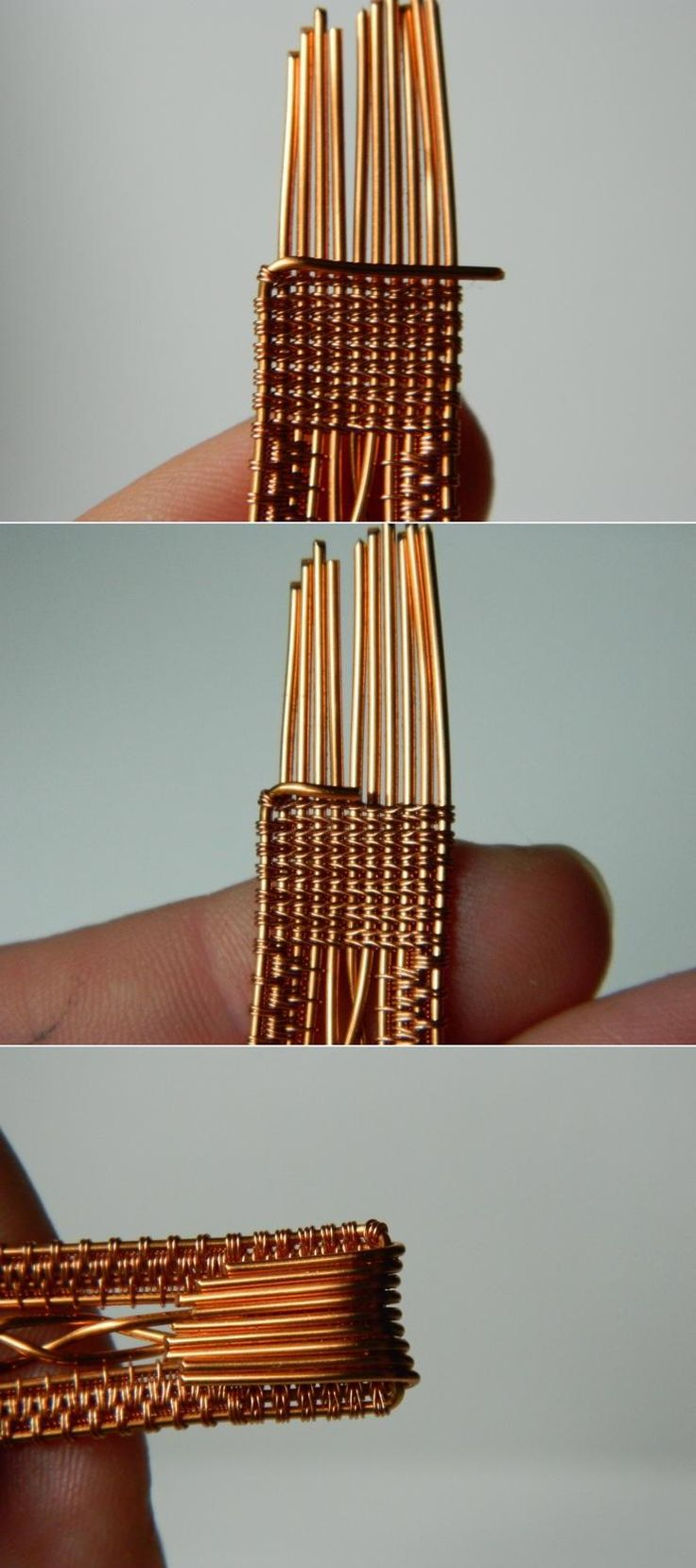 393 best Wire Weaving images on Pinterest | Copper, Diy jewelry ...