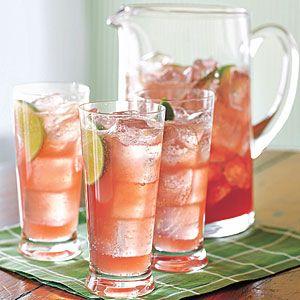 Raspberry-Lime Rickey  - MyRecipes