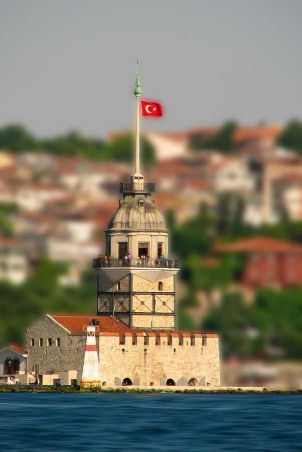 Maiden's tower in Turkey