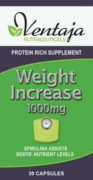 Ventaja Nutraceuticals Weight Increase 1000mg