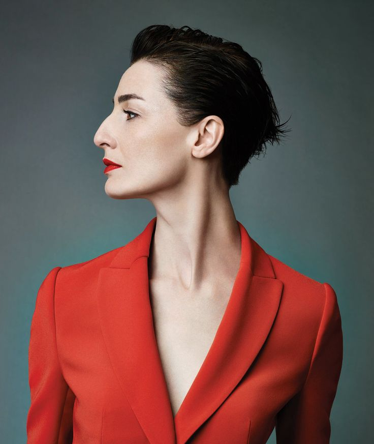 The striking profile of Erin O'Connor, photographed by Emma Summerton for the Radley AW2013 campaign. www.radley.co.uk