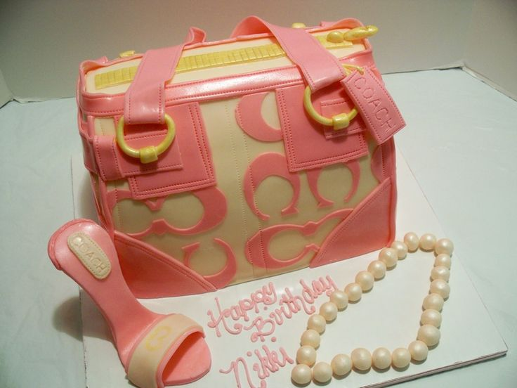 Stunning Coach Purse Pink u Cream